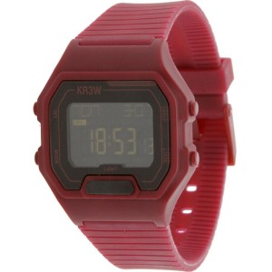 KR3W Terminal Watch (burgundy)