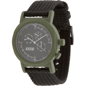 KR3W Navigator Watch (green / black)