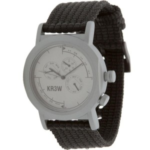 KR3W Navigator Watch (grey / black)