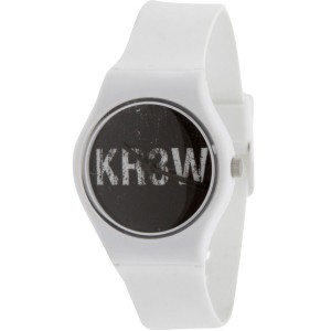 KR3W Freshman Logo Watch (white)