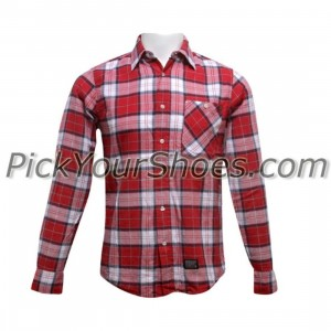 KR3W Duluth Long Sleeve Shirt (red)