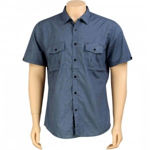 KR3W Quincy Short Sleeve Shirt (blue)
