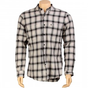 KR3W Desoto Long Sleeve Shirt (light grey)