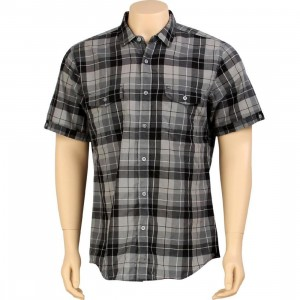 KR3W Lowell Short Sleeve Shirt (grey)