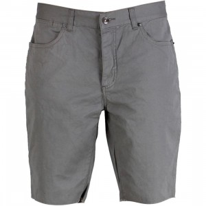 KR3W Canvas Cut Off Shorts (grey)