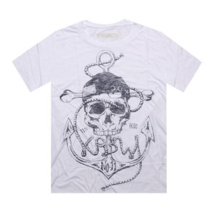 KR3W Anchor Premium Tee (white)