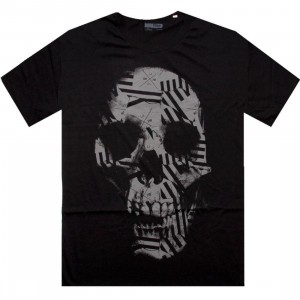 KR3W Flag Skull Tee (black)