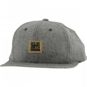 KR3W x Crooks and Castles Chambray Cap (black)