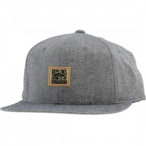 KR3W x Crooks and Castles Chambray Cap (blue)