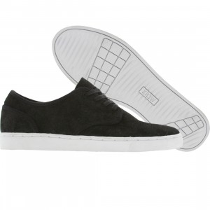 KR3W Grant Low (black suede)