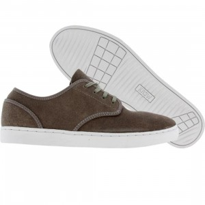 KR3W Grant Low (grey oiled suede)
