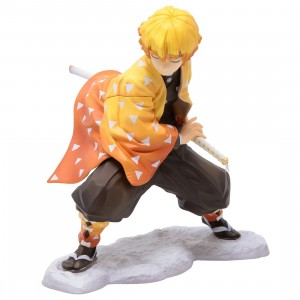 Kotobukiya ARTFX J Demon Slayer Zenitsu Agatsuma Statue (orange)