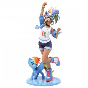 Kotobukiya My Little Pony Rainbow Dash Bishoujo Statue (blue)