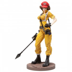 Kotobukiya G.I. Joe Lady Jaye Canary Ann Color Bishoujo Statue (yellow)