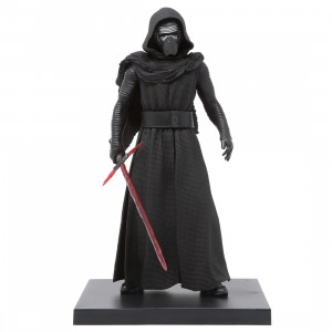 Kotobukiya ARTFX+ Star Wars The Force Awakens Kylo Ren Statue (black)