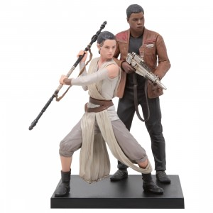 Kotobukiya ARTFX+ Star Wars The Force Awakens Rey And Finn Statue (brown)