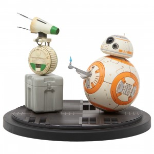 Kotobukiya ARTFX Star Wars The Rise of Skywalker D-O And BB-8 Statue (orange / green)