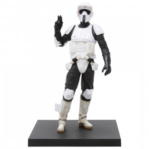 Kotobukiya ARTFX+ Star Wars Return Of The Jedi Scout Trooper Statue (white)