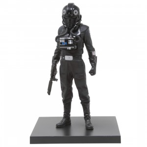 Kotobukiya ARTFX+ Star Wars A New Hope Tie Fighter Pilot Statue (black)