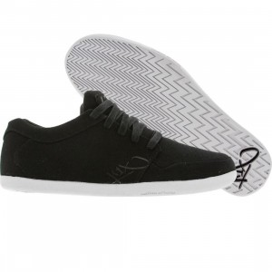 K1X Ip Low (black / white canvas)