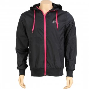 K1X Windbreaker Jacket (navy / neon pink) - PYS.com Exclusive