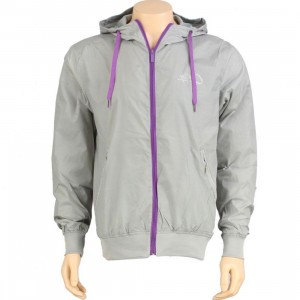K1X Windbreaker Jacket (silver grey / purple) - PYS.com Exclusive
