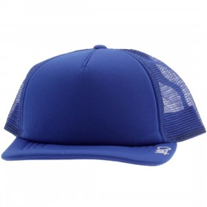 K1X Plain Tag Trucker Cap (true blue / white)