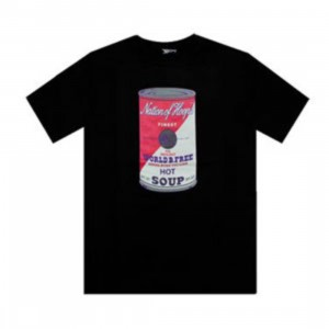 K1X Hot Soup Tee (black / white / pink)