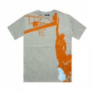 K1X Prince of Midair Tee (grey / orange / summer sky)