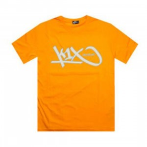 K1X Wolf Gang Tee (orange / white / summer sky)