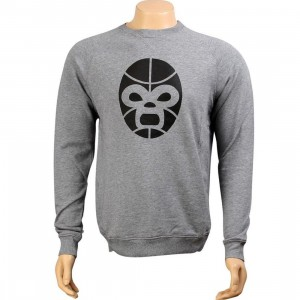 K1X Mask Crewneck - Mask (grey heather / black)
