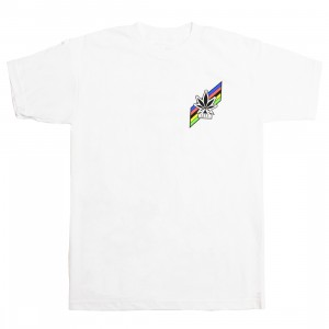 La Carrera Cycling Club Men All Rounder 52 Tee (white)