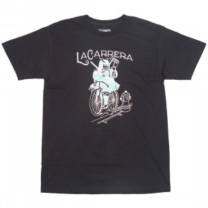 La Carrera Men Samurai King LMNB Tee (black / blue / tiffany)