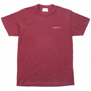 Lifted Anchors Men Logo Tee - BAIT Exclusive (burgundy)