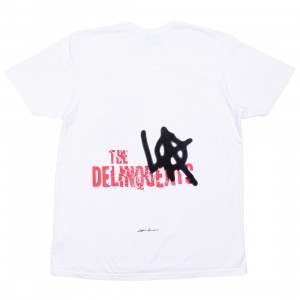 Lifted Anchors Men The Delinquents Tee (white)