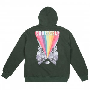 Lifted Anchors Men Endlessly Hoody (green / emerald)