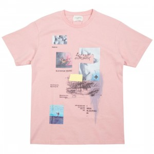 Lifted Anchors Men Gallery Tee (pink / salmon)