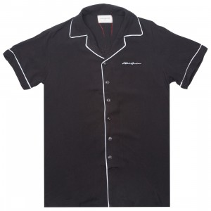 Lifted Anchors Men Tybalt Button Up (black)