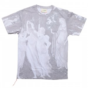 Lifted Anchors Men Renaissance Graphic Tee (gray / muted)
