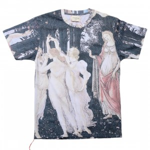 Lifted Anchors Men Renaissance Graphic Tee (black / multi)