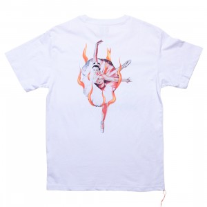 Lifted Anchors Men Ballerina Graphic Tee (white)