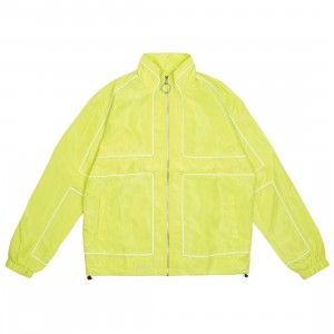 Lifted Anchors Men Vector Jacket (yellow / volt)