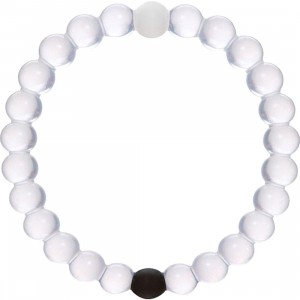 Lokai Bracelet (white / black / clear)