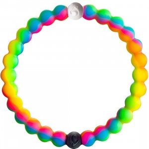 Lokai Neon Bracelet - Limited Edition Make A Wish Foundation (multi / neon pink)