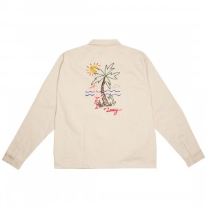 Lazy Oaf Men Lazy Holidays Jacket (brown / tan)