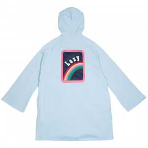 Lazy Oaf Women Over The Rainbow Hoody Dress (blue)
