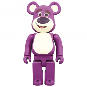 PREORDER - Medicom Toy Story Lots-O'-Huggin' Bear 1000% Bearbrick Figure (purple)