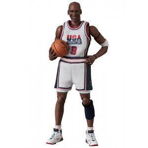 PREORDER - Medicom MAFEX Michael Jordan 1992 Team USA Figure (white)