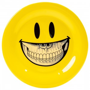 MINDstyle x Ron English 27cm Plastic Plate (yellow)