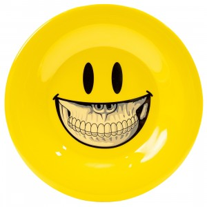 MINDstyle x Ron English 20cm Plastic Plate (yellow)